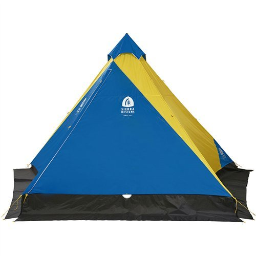 (Sierra Designs 4 Season Mountain Guide Tarp - Lightweight & Durable, Summer/Winter Use Backpacking Tarp)