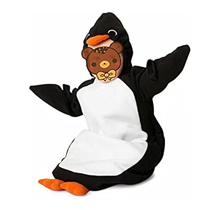 Gran tamaño bebé Pelele de bolsas de crecimiento. Forro polar para pijamas de pingüino bebé saco de dormir ...