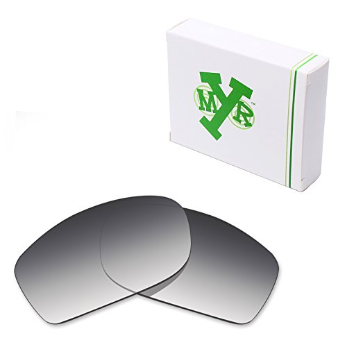 Mryok Polarized Replacement Lenses for Oakley Fives Squared - Grey Gradient - Squared Gradient
