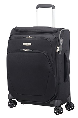 SAMSONITE Spark SNG - Spinner 55/20 with SmartTop Hand Luggage, 55 cm, 43 liters, Black