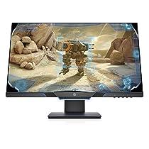 HP 25MX - Monitor (25, velocidad de 144 Hz, Tecnología AMD FreeSync, iluminación ambiental, 1920 x 1080 a 60 Hz) color negro