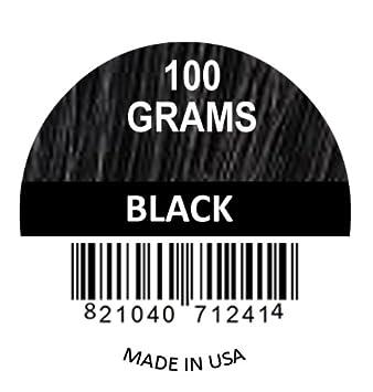 BLACK 100 GRAMS SUPER SIZE Original Samson Hair Building Fibers Refill for all brands