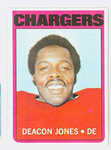 1972 Topps Football 209 Deacon Jones Los Angeles Rams Near-Mint Plus