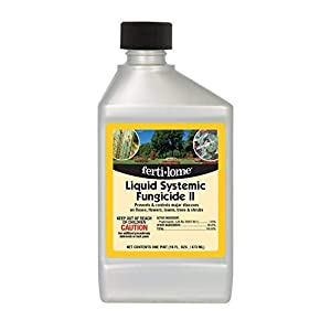 Fertilome Liquid Systemic Fungicide II (control major disease, roses, flowers, lawn, trees, shrub), 1 Quart