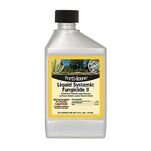 Fertilome Liquid Systemic Fungicide II (control major disease, roses, flowers, lawn, trees, shrub), 1 Quart