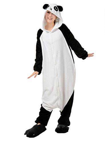 FashionFits Unisex Hoodie Gift Pajama Panda Jumpsuit Party One Piece Sleepwear