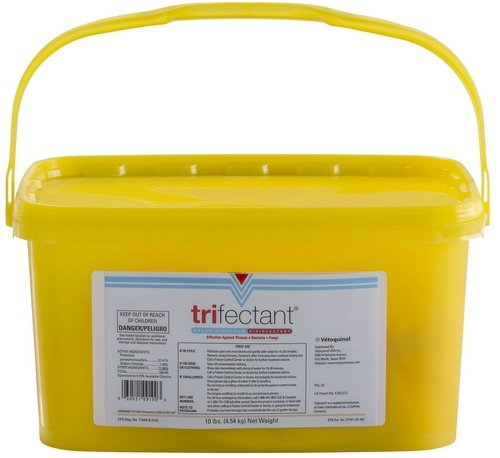 Tomlyn Trifectant Disinfectant - Tomlyn Trifectant Disinfectant Tub, 10 lbs