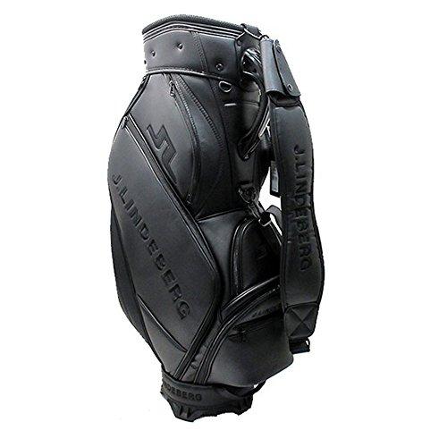 - J.Lindeberg Unisex Golf Club Bag, Black, OS