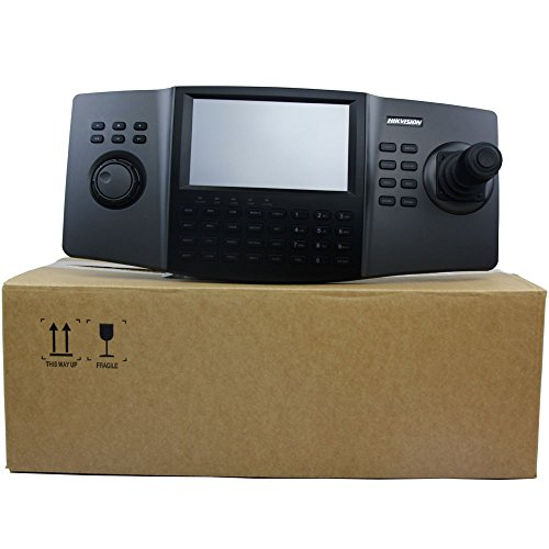 Hikvision Network Keyboard with 3-Axis Joystick, Touchscreen, 1080p Decoding, 12VDC