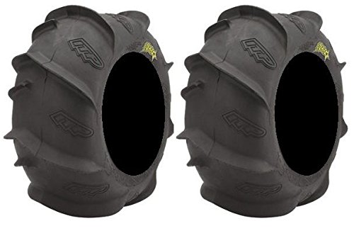 Pair of ITP Sand Star LR 18x9.5-8 ATV Tires (2) by Powersports Bundle