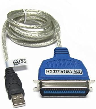 SATKIT Cable USB Tipo A Macho a Puerto Paralelo C36(Conexión ...