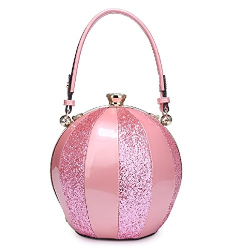 Handbag Clasp Gem Balloon MA34346 Shoulder Tote Bag Multi 1 Pink Ladies Women's Panel Glitter Handbag axSwnqXBIt
