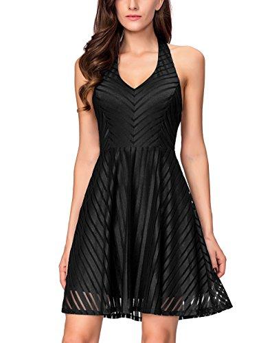 holiday black cocktail dresses - 6