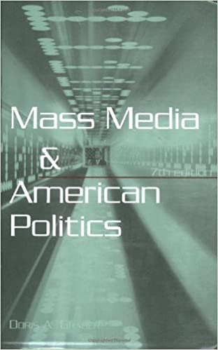 Book Mass Media and American Politics, 7th Edition by Graber D (2005-08-01)