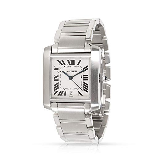 Cartier Tank Francaise Automatic-self-Wind Male Watch W51002Q3 (Certified Pre-Owned)