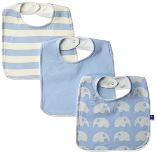 KicKee Pants Baby Essentials Bib Set Boys, Pond