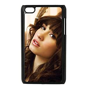 iPod Touch 4 Cell Phone Case Black Demi Lovato ATF019414