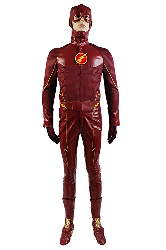 Barry Allen Red Cosplay Costume ,XX-Large