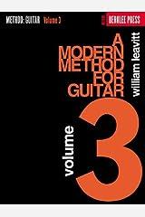 A Modern Method for Guitar - Volume 3 Kindle Edition
