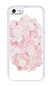 Apple Iphone 5C Case,WENJORS Unique Fireworks Soft Case Protective Shell Cell Phone Cover For Apple Iphone 5C - TPU White