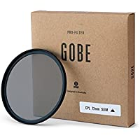 Gobe CPL 77mm Japan Optics Slim Polarized Filter