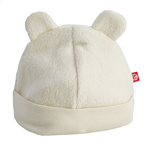 Zutano Infant Unisex-Baby Fleece Hat, Cream, 6 Months