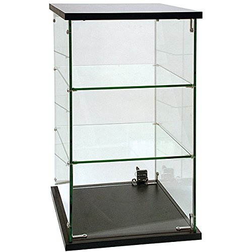 Countertop Showcase - KC Store Fixtures 16526 Frameless Glass Countertop Showcase 13