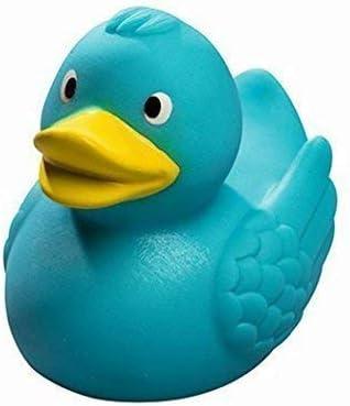 Mein Zwergenland Quietsche Ente Rubber Duck Rubber Duck Bath Duck Turquoise Amazon Co Uk Kitchen Home