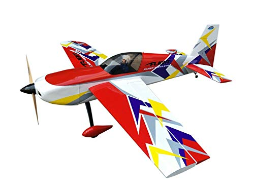 Slick70 EP 3D Aerobatic RC Radio Electric Airplane ARF Oracover Film Balsa Wood Yellow/RED/Blue Option