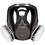 3M 68P71 Safety Full Face Paint Project Respirator, Medium