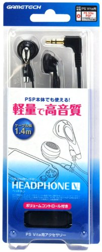 Headphone V (PS Vita/PSP-3000/PSP-2000/PSP-1000)