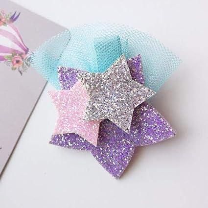c78cb8dd1 Star Pin - Baby Girls Stars Unicorn Headwear Kids Girl Hair Pins Clips 2019  Jewelry -