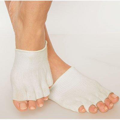 Calcetines japoneses de lija en seco antepié Gel talón pies carcasa rígida agrietada Skin hidratante recuperación