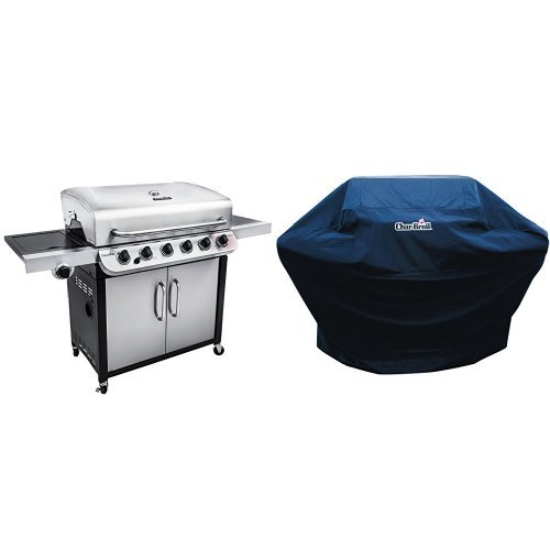 Char-Broil Performance 650 6-Burner Cabinet Gas Grill with Performance Grill Cover