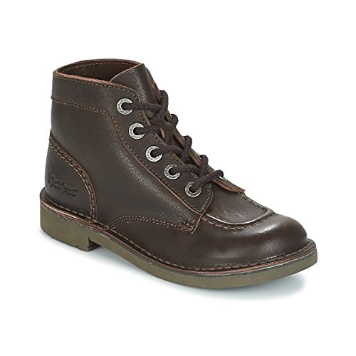 Mixte Col Brown Bottes Kickers Rangers Dark Enfant A0tnq