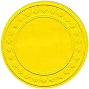 Trademark Poker 10-1010BLK-100 Super Diamond Clay Composite Chips