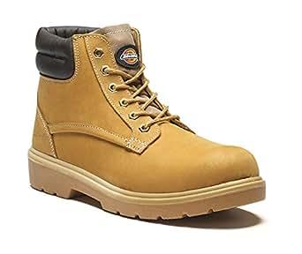 Groundwork - Calzado de protección para hombre, color dorado, talla 11 UK