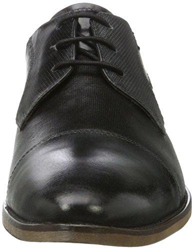 Bugatti 312164031110, Zapatos de Cordones Derby para Hombre Gris (Grey / Black)