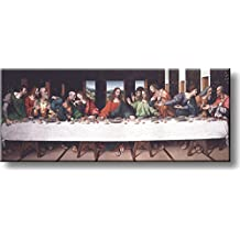 The Last Supper by Giampietrino Picture on Stretched Canvas, Wall Art Décor, Ready to Hang!