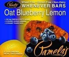 2 Savers Package:Pamela\'s Oat Blueberry Lemon Bars (6x5 CT)