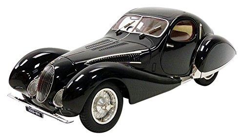 CMC–Lago Schnitt Typ 150SS Figoni & Falaschi 1937Talbot Fahrzeug Miniatur, m-166, schwarz, Maßstab 1/18