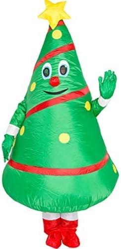 SayHia Disfraz de árbol de Navidad, Disfraz Inflable navideño de ...