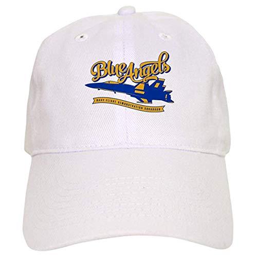 LUDEM U.S. Navy Blue Angels Plane - Baseball Cap with Adjustable Closure, Unique Printed Baseball Hat