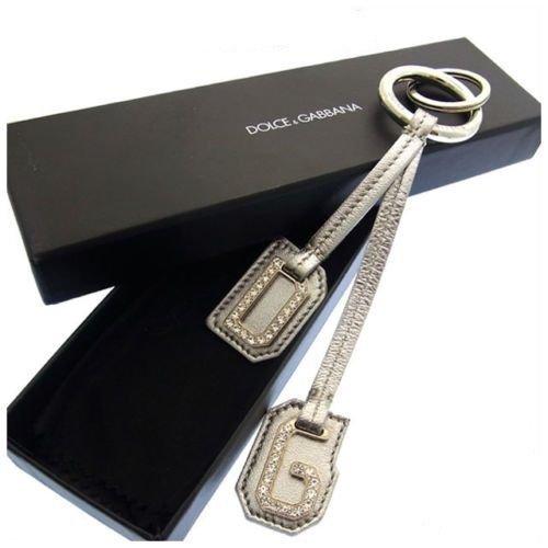 (ドルチェ&ガッバーナ) Dolce & Gabbana キーリング シルバー ロゴ レディース 中古 F003   B01LXA34JA