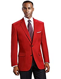 Amazon.com: Reds - Sport Coats & Blazers / Suits & Sport Coats ...