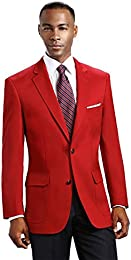 Amazon.com: Red - Suits &amp Sport Coats / Clothing: Clothing Shoes