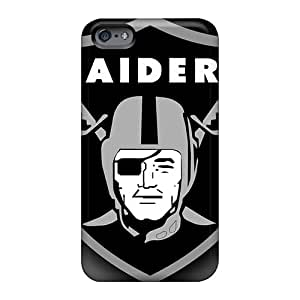 Shock Absorption Cell-phone Hard Cover For Apple Iphone 6 Plus (LDD6535OJes) Custom Attractive Oakland Raiders Pictures