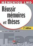 Image de Réussir ses mémoires et thèses (French Edition)
