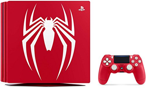 Playstation 4 Pro 2TB SSD Limited Edition Console – Marvel's Spider-Man Bundle Enhanced with Fast Solid State Drive