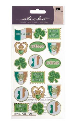 Sticko 'Erin Go Braugh' Stickers